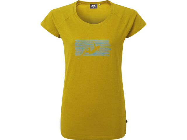 Mountain Equipment King Line T-shirt Femme, acid
